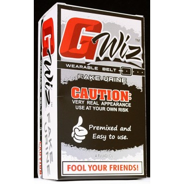 G WIZ SYNTHETIC URINE BELT KIT - 4 FL. OZ