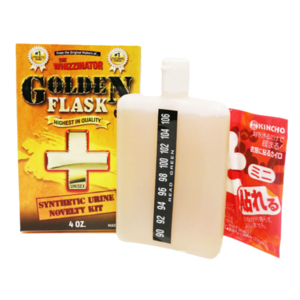 GOLDEN FLASK SYNTHETIC URINE 4oz