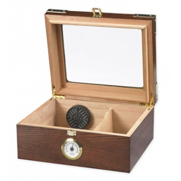 CAPRI Humidor - Up to 50-Cigar Capacity