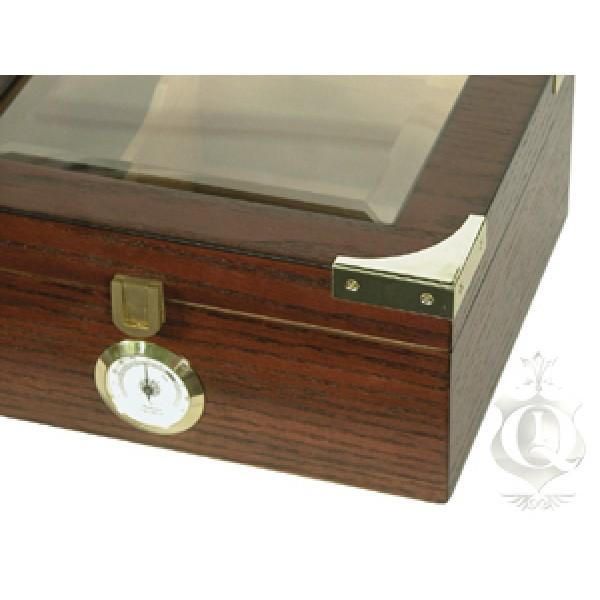CAPRI Humidor - Up to 50-Cigar Capacity