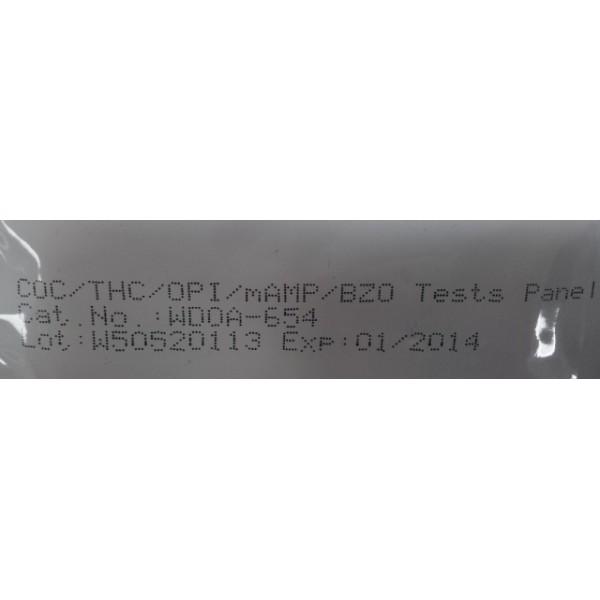 INSTANT TEST - 1-PANEL DRUG TEST