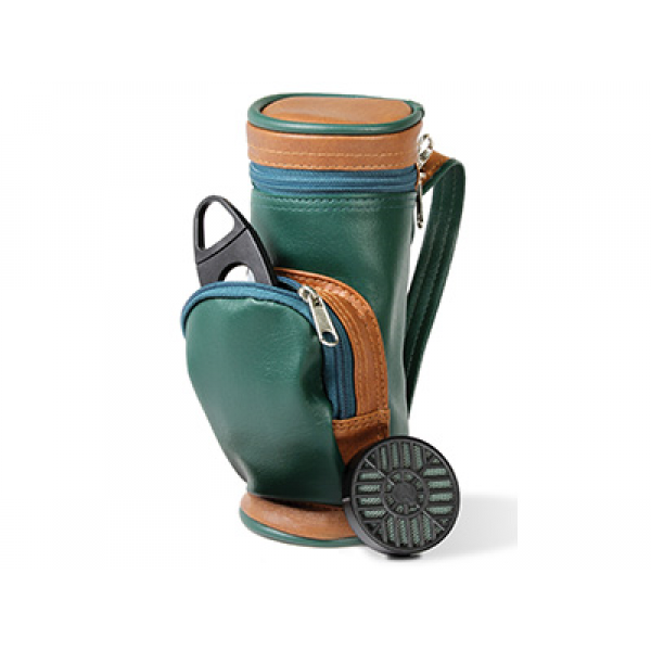 Humidor Golf Bag W/Cutter And Humidifier