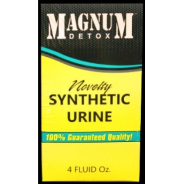 MAGNUM SYNTHETIC URINE - 4-oz BOTTLE