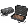 Humidor Plastic Travel Black 5 Ct.