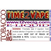 TIME2VAPE PREMIUM E-LIQUID - 10ml BOTTLES