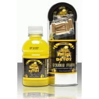 HIGH VOLTAGE DOUBLE FLUSH - 8oz BOTTLE with (6) CAPSULS