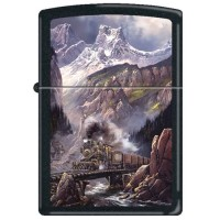 ZIPPO - Fall Creek Run by Ted Blaylock - Item #852241