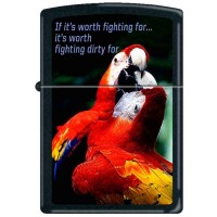 ZIPPO - IF IT'S WORTH FIGHTING FOR - Item#852866
