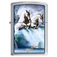 ZIPPO - MAZZI WAVES & HORSES - Item#852918
